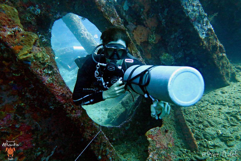 Profitez d'une exploration en toute intimité grâce au Bali Plongée Épave