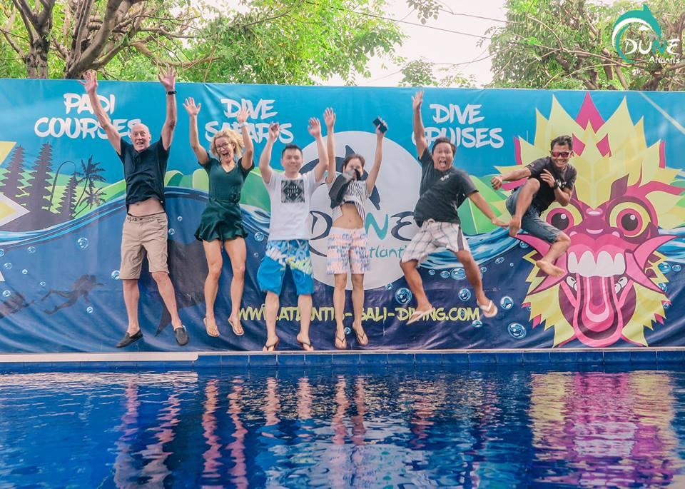 Profitez d'une expérience incroyable grâce au meilleur Club Plongée Bali