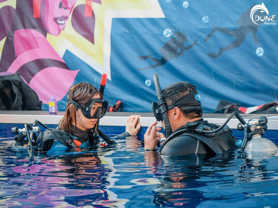 Un moyen sûr de passer la certification Open Water Bali
